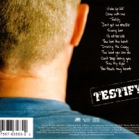Testify - cover back